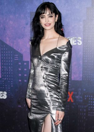 Krysten Ritter - 'Jessica Jones' Season 2 Premiere in New York