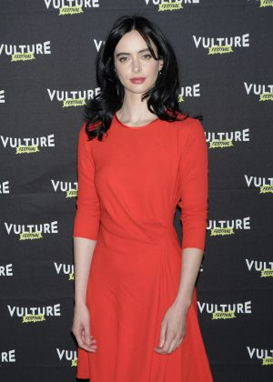 Krysten Ritter - Jessica Jones: The Art Of Collaboration in NY