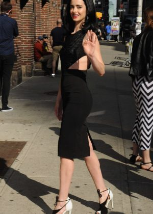 Krysten Ritter - 'Late Show with Stephen Colbert' in NYC