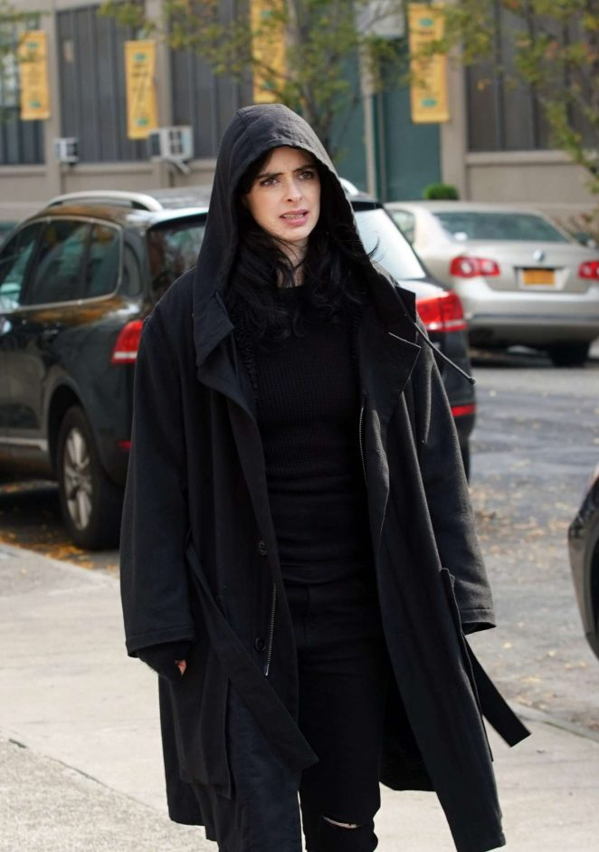 Krysten Ritter – On the set of 'Jessica Jones' Season 3 in New York