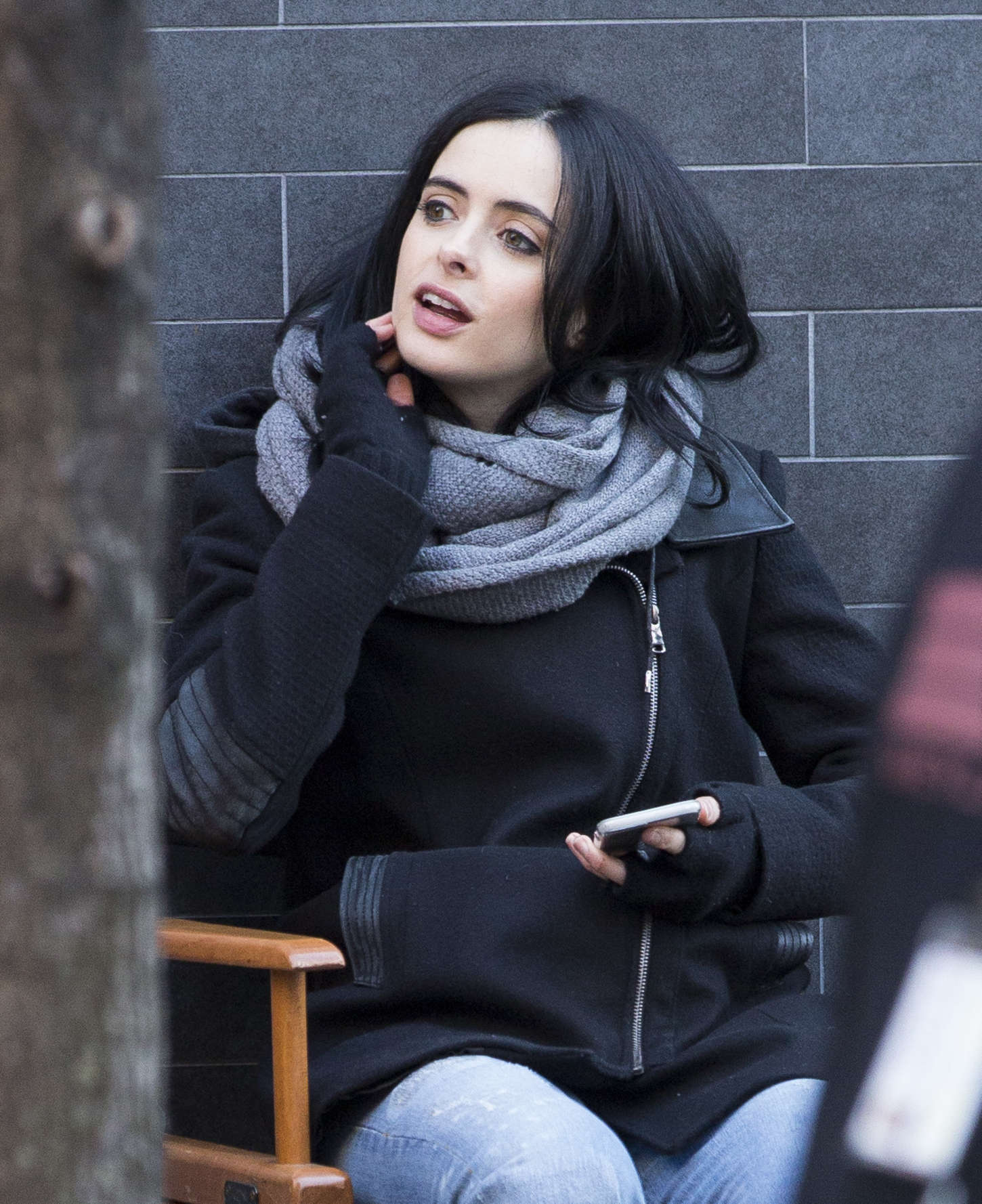 Krysten Ritter - Set of 'Aka Jessica Jones' in Manhattan