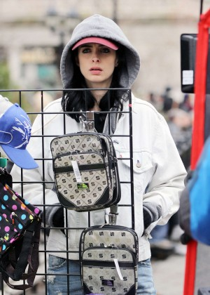 Krysten Ritter: Set of Aka Jessica Jones -08