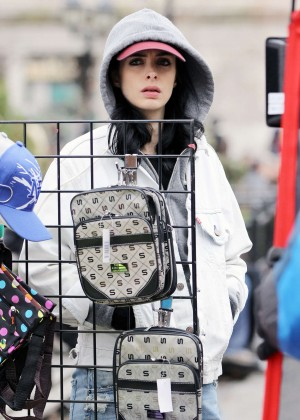 Krysten Ritter: Set of Aka Jessica Jones -13