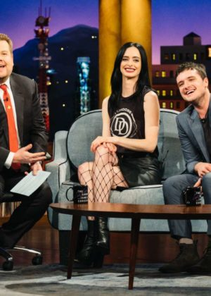 Krysten Ritter - 'The Late Late Show with James Corden' in Los Angeles