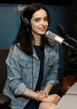 Krysten Ritter - Visits SiriusXM Studios in New York City