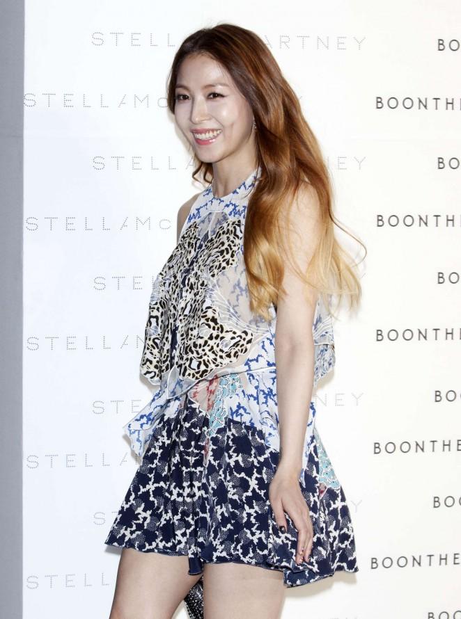 Kwon BoA - Stella McCartney 'The World Of Stella At BoonTheShop' Photocall in Seoul