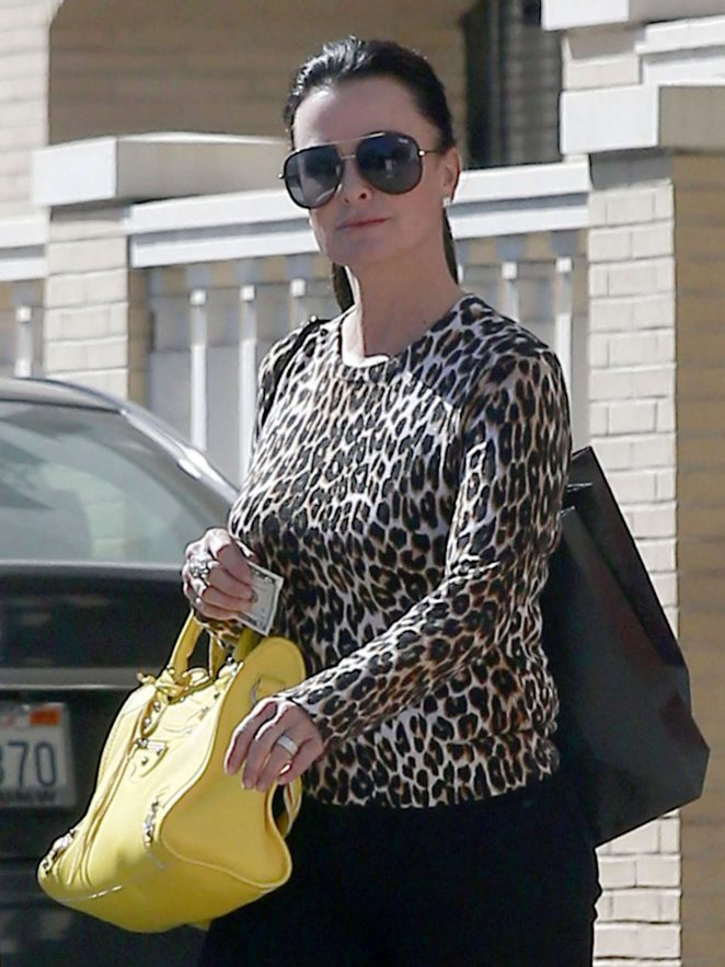 Kyle Richards at Barneys New York in Beverly Hills