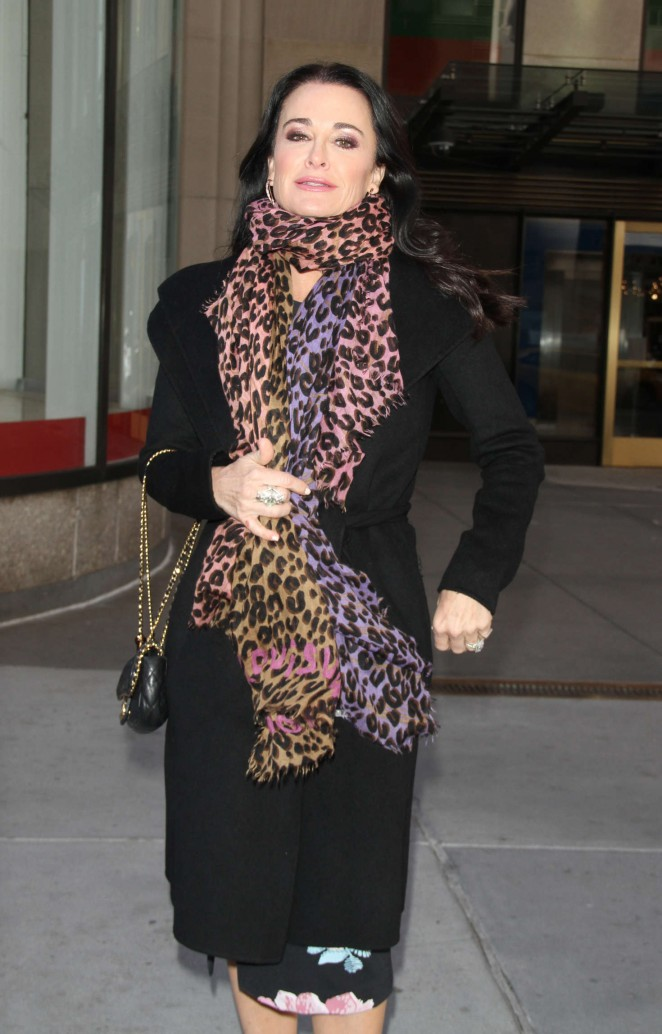 Kyle Richards at NBC's Today Show in New York