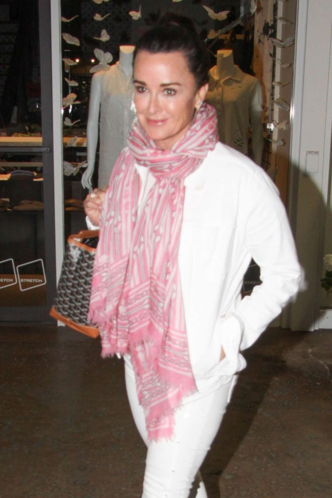 Kyle Richards at Vibrato in Los Angeles