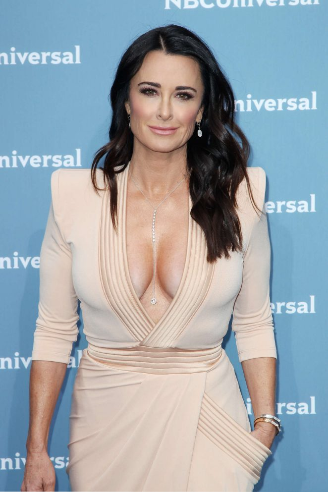 Kyle Richards - NBCUniversal Upfront Presentation 2016 in New York City