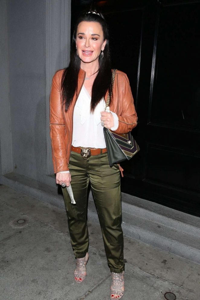 Kyle Richards - Out in West Hollywood