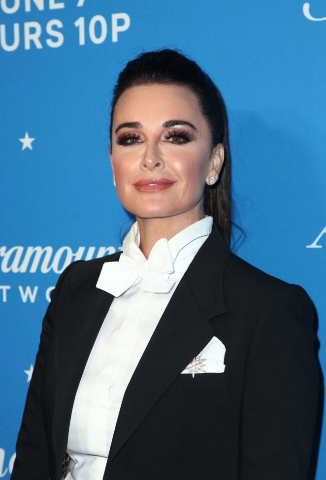 Kyle Richards - Photocall for American Woman Premiere Party In Los Angeles