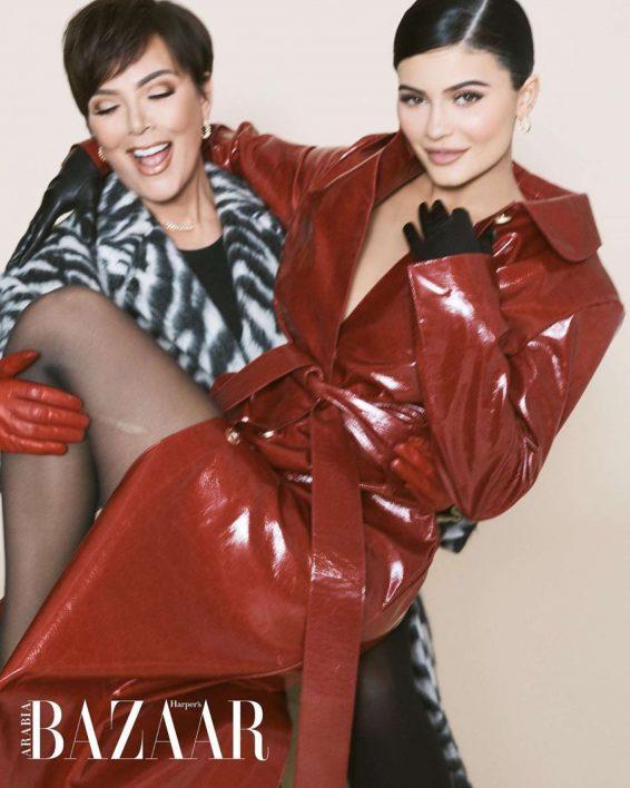 Kylie and Kris Jenner - Harper's Bazaar Arabia (July/August 2019) adds