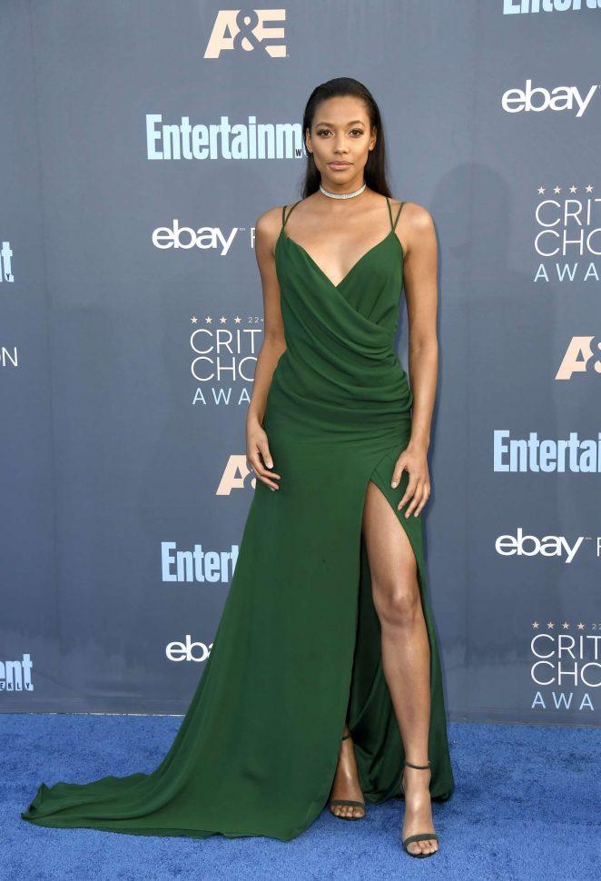 Kylie Bunbury: 22nd Annual Critics Choice Awards -01