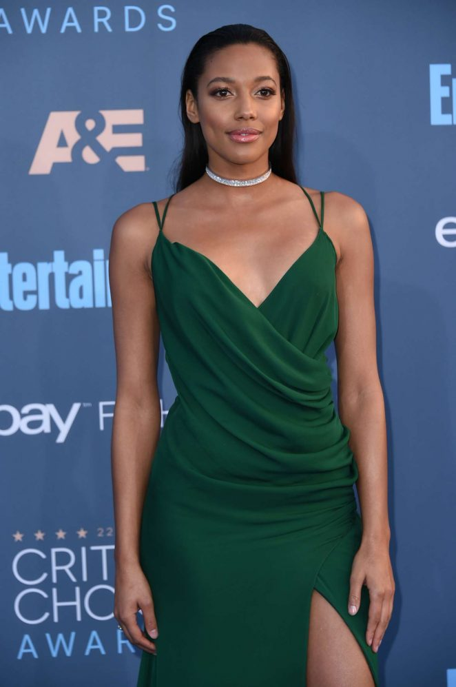 Kylie Bunbury - 22nd Annual Critics' Choice Awards in Los Angeles