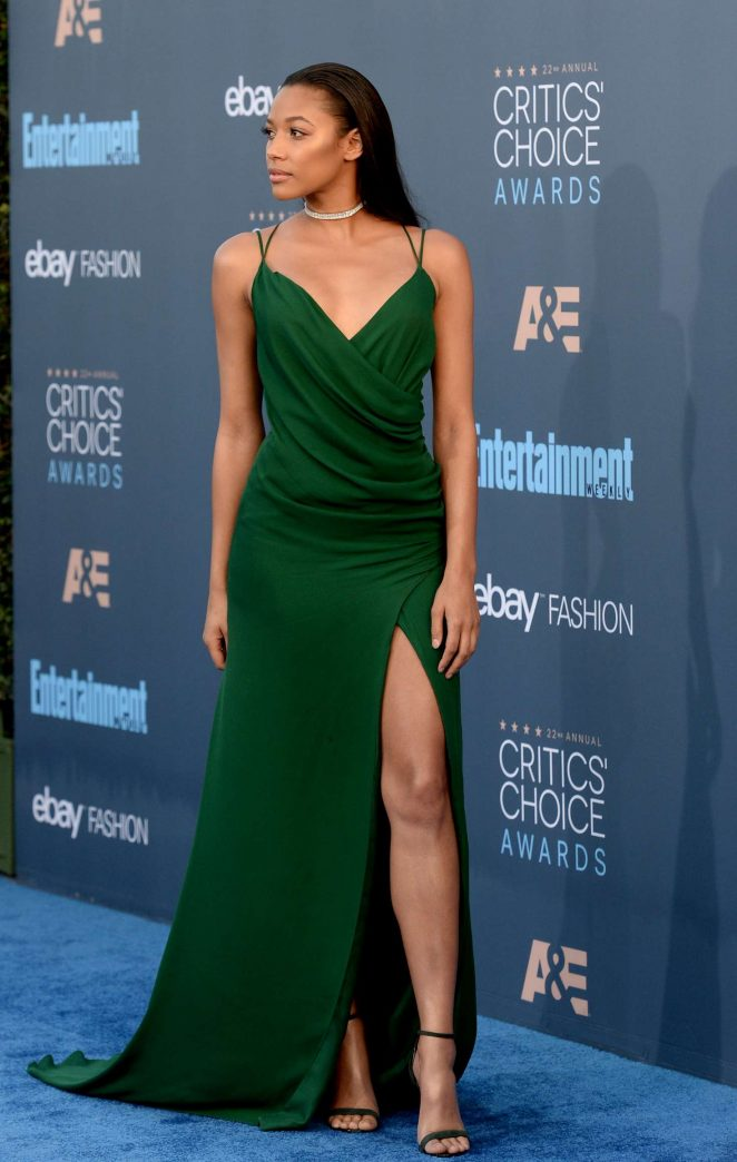 Kylie Bunbury: 22nd Annual Critics Choice Awards -05