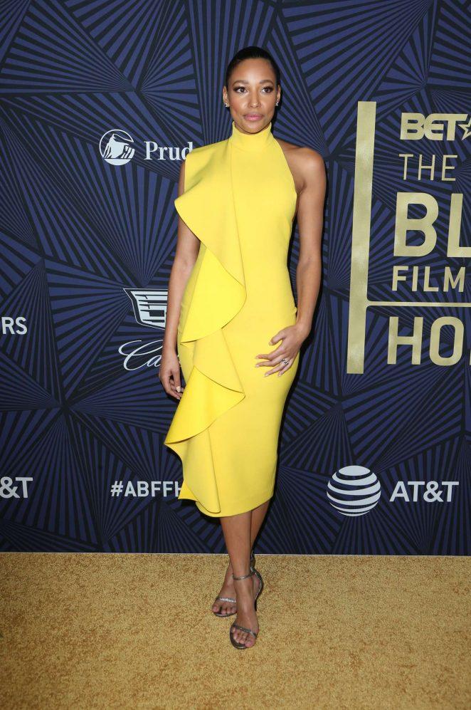 Kylie Bunbury: BETs 2017 American Black Film Festival Honors Awards -03
