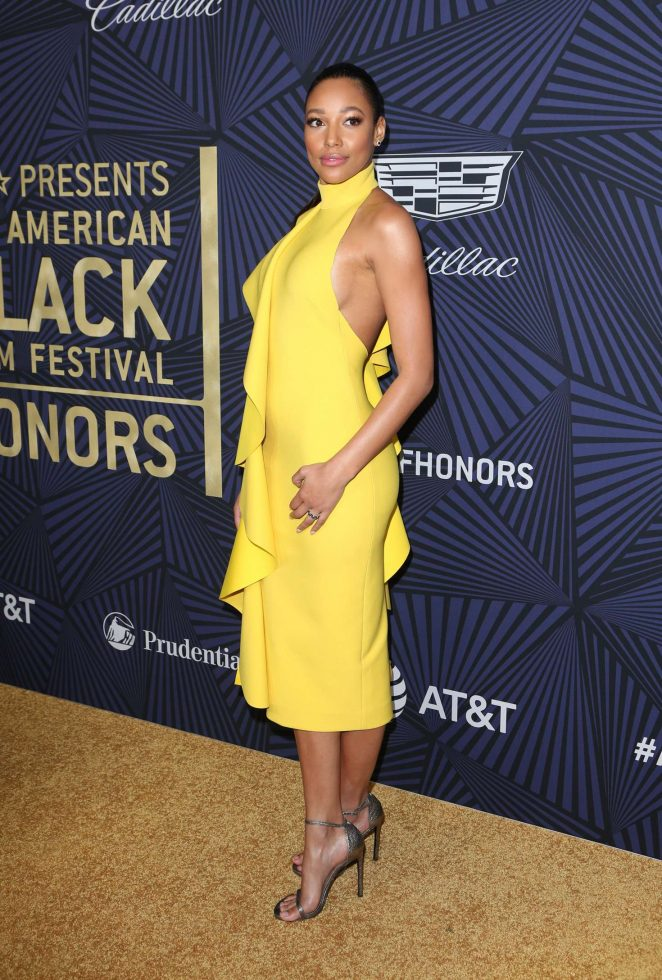 Kylie Bunbury: BETs 2017 American Black Film Festival Honors Awards -07
