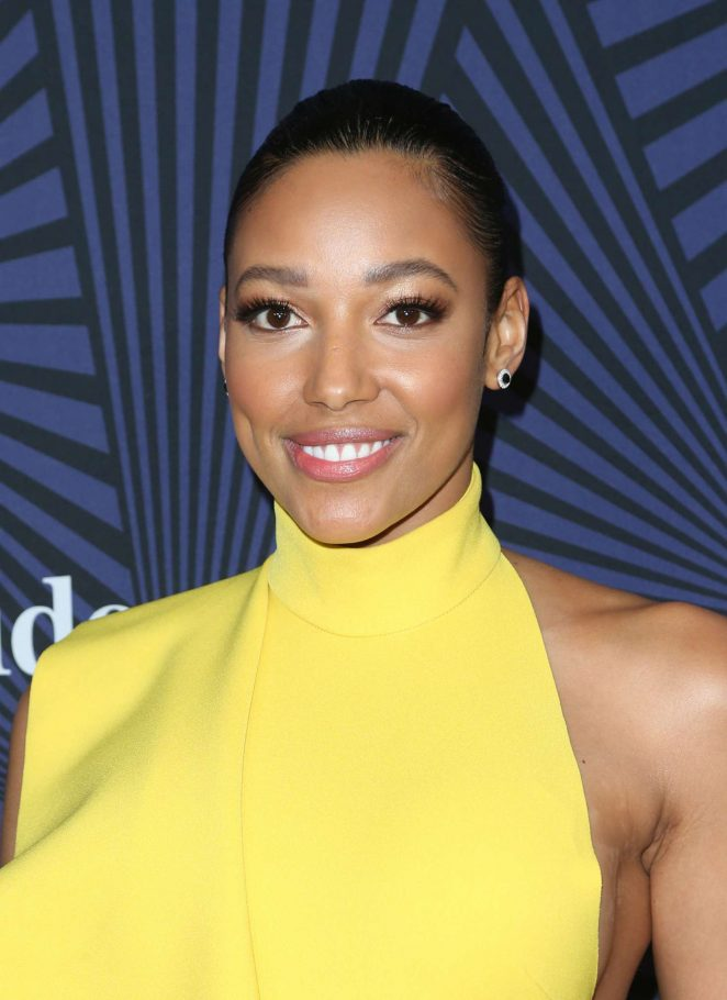 Kylie Bunbury: BETs 2017 American Black Film Festival Honors Awards -11