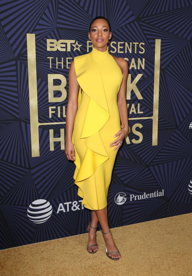 Kylie Bunbury: BETs 2017 American Black Film Festival Honors Awards -12