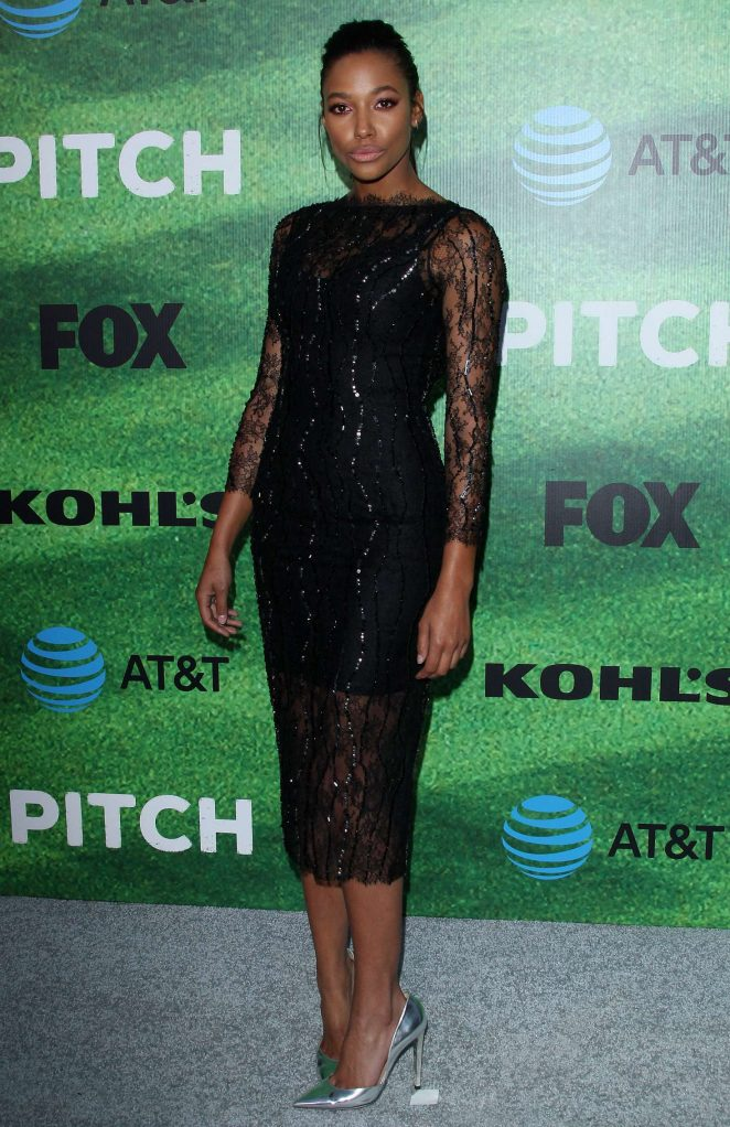 Kylie Bunbury - 'Pitch' Premiere in Los Angeles