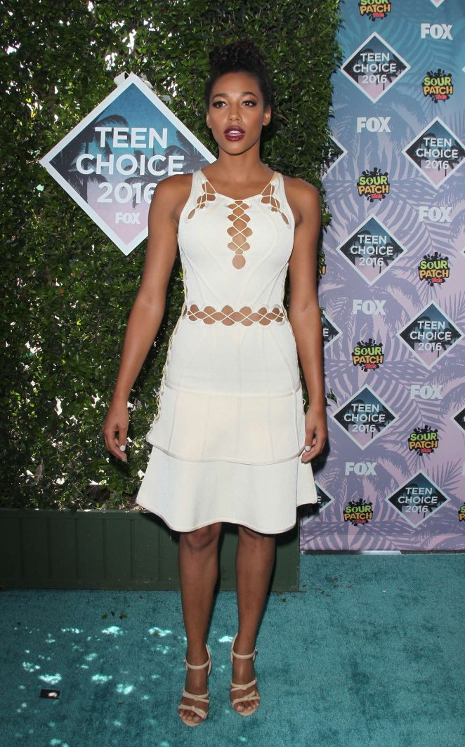 Kylie Bunbury - Teen Choice Awards 2016 in Inglewood
