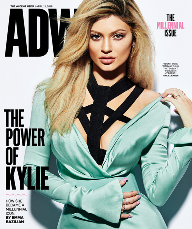 Kylie Jenner - AdWeek Cover Magazine (April 2016)