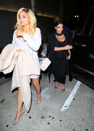 Kylie Jenner and Kim Kardashians at Craigs -01