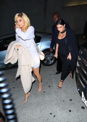 Kylie Jenner and Kim Kardashians at Craigs -04