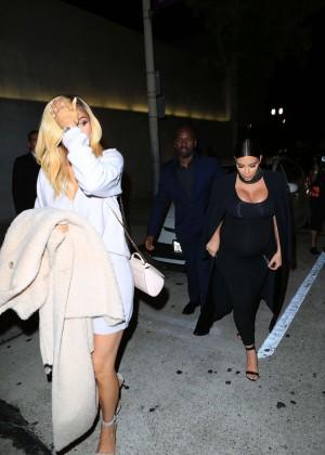Kylie Jenner and Kim Kardashians at Craigs -06