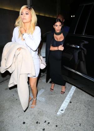 Kylie Jenner and Kim Kardashians at Craigs -08