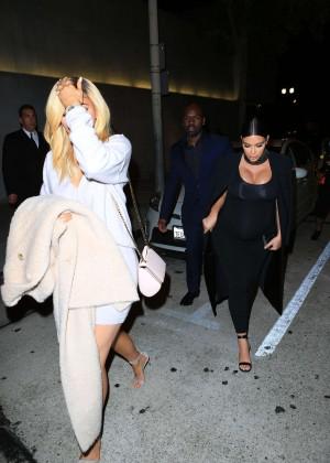 Kylie Jenner and Kim Kardashians at Craigs -09