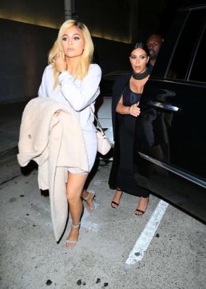 Kylie Jenner and Kim Kardashians at Craigs -11