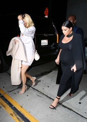 Kylie Jenner and Kim Kardashians at Craigs -12