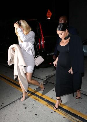 Kylie Jenner and Kim Kardashians at Craigs -15