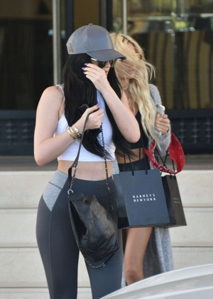 Kylie Jenner and Pia Mia Perez - Shopping at Barneys New York in Beverly Hills