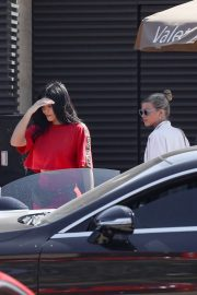 Kylie Jenner and Sofia Richie - Leaving Nobu after lunch in Malibu