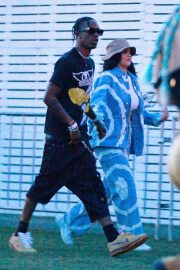 Kylie Jenner and Travis Scott - Arrives at Coachella in Indio