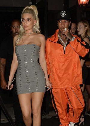 Kylie Jenner and Tyga - Leaving a Nylon Magazine Party in NY