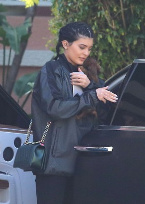 Kylie Jenner - Arrives at the Beverly Hills Hotel