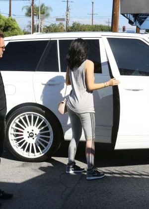 Kylie Jenner Botty in Tights -05