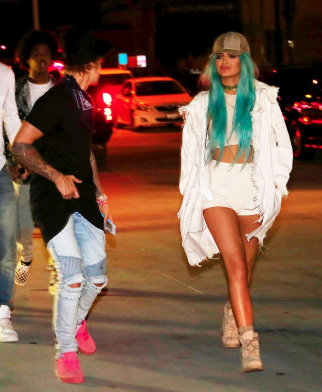 Kylie Jenner - Arriving at the Beacher's Madhouse Coachella After Party in Indio
