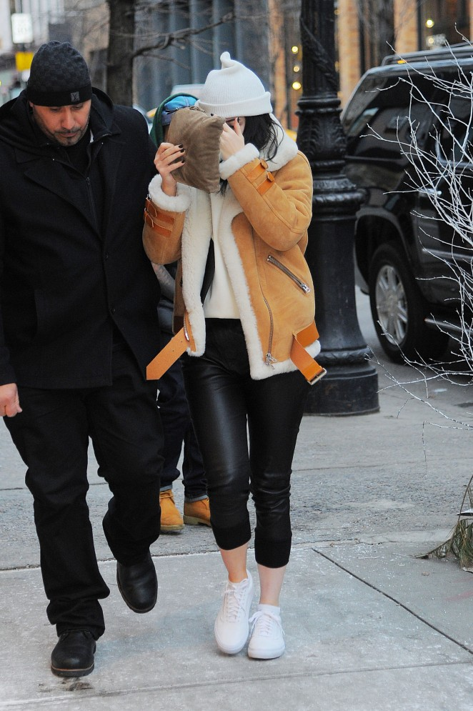 Kylie Jenner at Cipriani in Soho