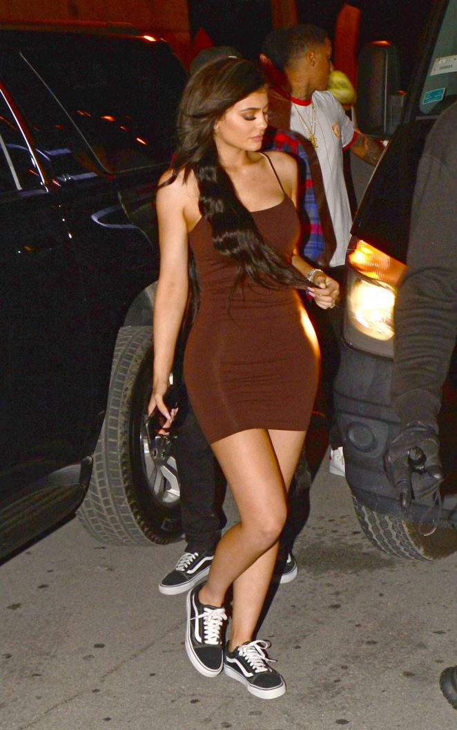 Kylie Jenner at Club E1 in Miami