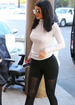 Kylie Jenner at Fogo de Chao in Beverly Hills