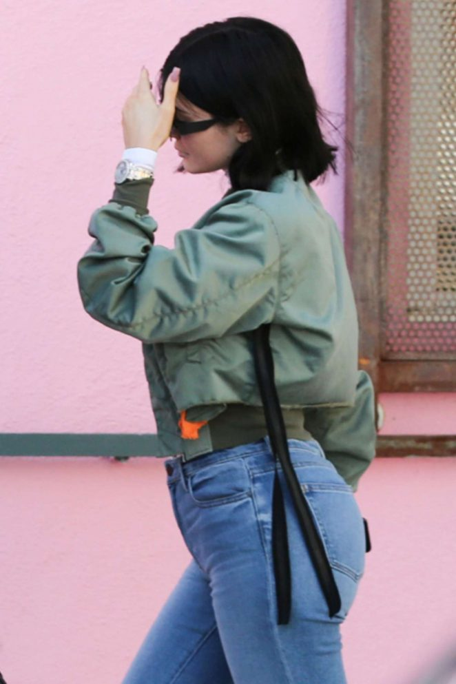 Kylie Jenner at Ice Cream Museum in Los Angeles