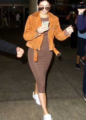 Kylie Jenner at LAX Airport in Los Angeles