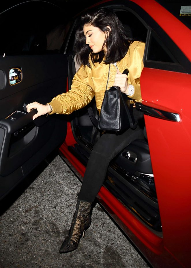 Kylie Jenner at Nice Guy in West Hollywood