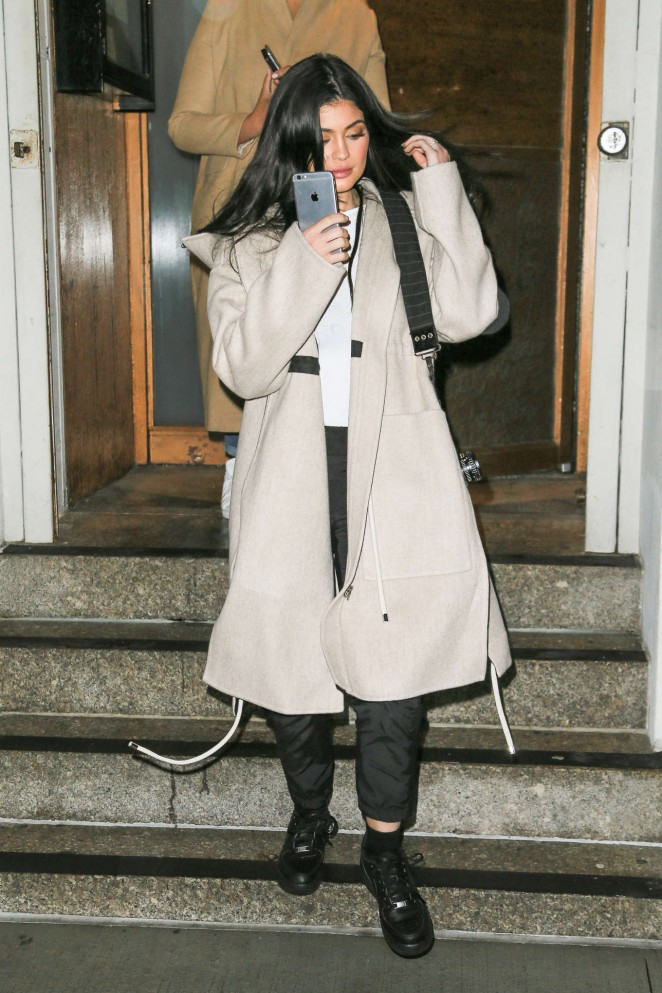 Kylie Jenner at Nobu in New York -07