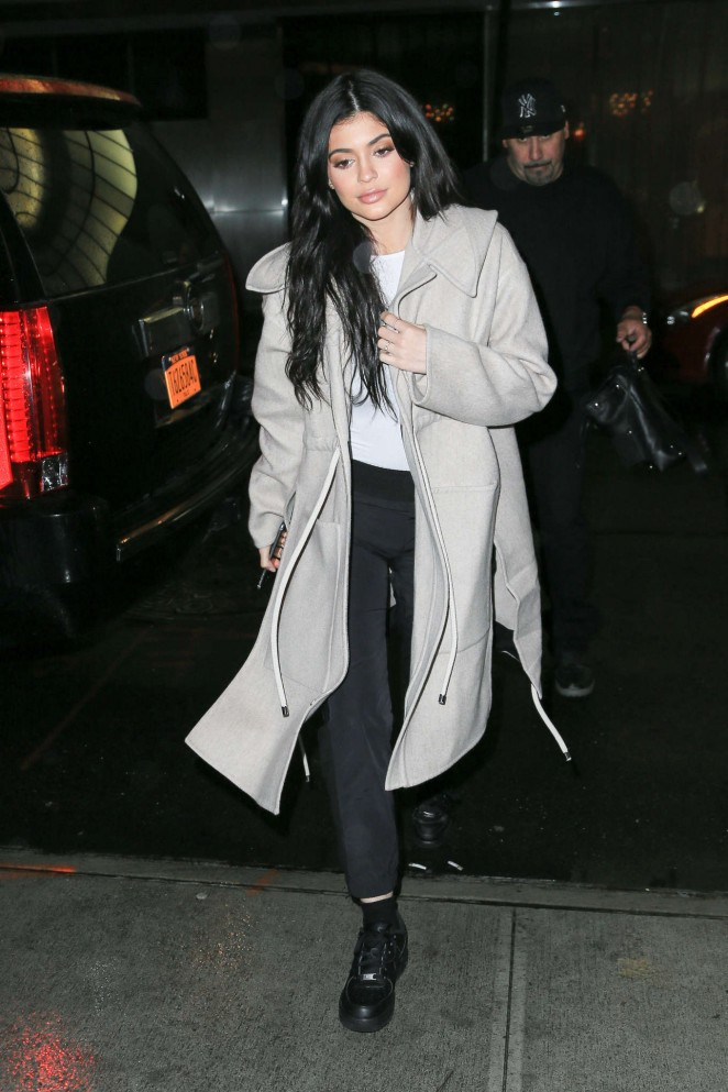 Kylie Jenner at Nobu in New York
